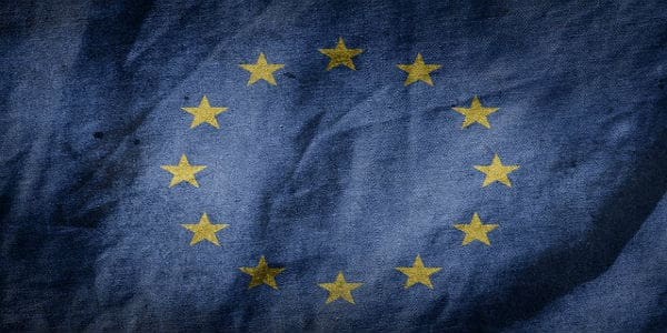 EU Flagge, europäische Union
